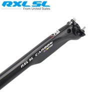 Wholesale RXL SL PRO Carbon Fiber Bicycle Seatpost MTB Road Bicycle Seat post Breaking Wind Seattube Seat Bike Parts