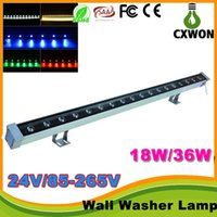 Wholesale led outdoor light super bright led lamp LED wall washer RGB W wash wall LED lamp LED flood light staining light