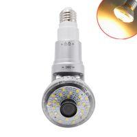 I-Smart Ampoule WiFi HD960P P2P IP Caméra Réseau 2.8mm lentille avec lumière chaude Built-in 2Way Speaker Motion Detection
