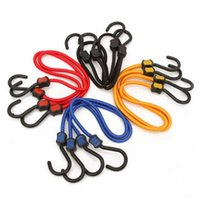 bicycle bungee cord - 2PCS Bicycle Rubber Bungee Cord Elastic Luggage Tied Rope