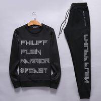 auto jacket - 2016 PP Men s Sweatshirts Sweat Suit Mens Hoodies Brand Clothing Men s Tracksuits Jackets Sportswear Sets Jogging Suits Hoodies Men