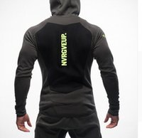 Wholesale Size M XXL Gym Shark Hoodie Brand clothing Hoodies Men Embroidery Printing Tracksuit Bodybuilding Fitness Sport Sweatshirt