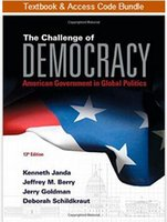 access global - The Challenge of Democracy American Government in Global Politics with MindTapTM Political Science term months Printed Access Card