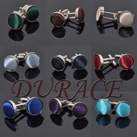 Wholesale Men s Cufflinks Fashion Jewelry Cloth Metal Buckle For Men Cuff Links Style Colors K369