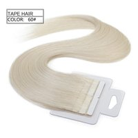 Cheap Tape On Skin 4cm Width,16inch 1.5g pc 10pcs 15g Straight Indian Hair Skin Weft Remy Double Sided Tape In On Human Hair Extensions