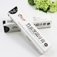 Wholesale Charcoal Toothpaste China Whitening Bamboo Charcoal Teeth Black Herbal Tooth Paste Tooth Wash Repair Dentifrice g Toothpaste