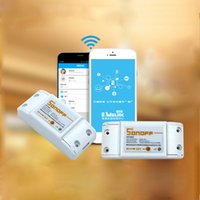 Wholesale dc220v Remote Control Wifi Switch Smart Home automation Intelligent interruptor WiFi Center for APP Smartphone A W