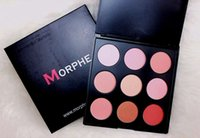 Wholesale MORPHE blush palette colors Top quality MORPHE N c B FW FC BZ ATURALLY BLUSHED PALETTE styles
