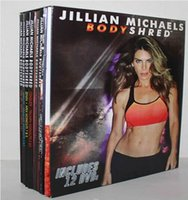 Wholesale Hot In Stock Jillian Michaels BODYSHRED Workout DVD Base Kit BONUS DVD DVD Fitness workout BRAND NEW Fast DHL factory price