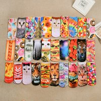 ate digital - Topshop D Digital Printing Trade Day Single Socks Harajuku British Goods to Eat Animal Series Socks Socks