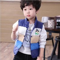 baby boy christmas sweaters - New Christmas Cartoon Children Warm Thickening Vest with Velet Baby Sweaters Boys Girls Jacket Kids Waistcoat Clothes Baby Striped Vest