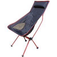beach chair designs - Outdoor Lengthen Portable Lightweight Folding Camping Stool Chair Seat for Fishing Festival Picnic BBQ Beach With Bag New Design