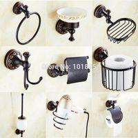 Wholesale Black Color Brass Material Bathroom Accessories X16013