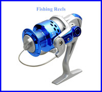 Wholesale Fishing Tackle reels SA4000 Fry for Fishing Rod Sea Rod Plastic Head Tool Folding Spinning Fishing Vessel Silver Blue OUT0221 DHLfree