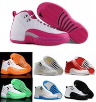 Wholesale Retro Basketball Shoes Sneakers Men Women Taxi Playoffs Gamma Blue Grey Sports Retro Shoes J12 XII Replicas