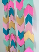 aztec gold color - Tribal garland Gold Aztec baby shower banner Pow wow birthday decor Camping birthday garland Baby Shower decor your color choices