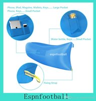 Cheap 9Colors Waterproof Inflatable Sofa Lounger Chairs Air Sleep Beds Lay Bag Camping Outdoor Beach Pads Couch Lamzac hangout Nail instruction 10