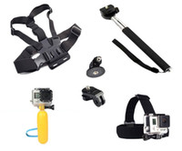 Wholesale Gopro Accessories Monopod Tripod Float Bobber Chest Belt Set For Go pro Hero sjcam sj4000 xiaomi yi action camera GS27