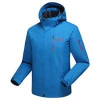 big mountains - Plus Size Mountain skiing ski wear winte waterproof hiking outdoor jacket snowboard jacket ski suit men Big yards snow jackets