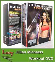 Wholesale Best Price Jillian Michaels BODYSHRED Workout DVD Base Kit BONUS DVD DVD INCLUDED Fitness workout BRAND