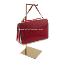 bag hardware supplies - metal gold hanging bags display stand bag display rack bag holder stand handbag hardware supplies