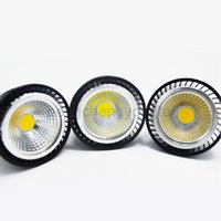Wholesale COB LED Bulbs Cool Nature White Energy Saving Dimmable W V E27 High Power Down Spot Lights