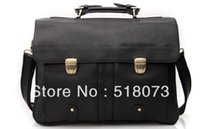 antique leather briefcases - Mens Genuine Leather Antique Style Briefcases Laptop Business Attache Messenger Bags