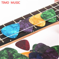 Wholesale 100pcs mm Guitar Picks Acoustic Electric Plectrums Celluloid Assorted Colors