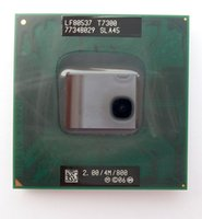 Wholesale Core Duo T7300 GHz MB MHz SLA45 PGA478 Socket M Mobile Laptop Processor Tested ok