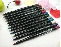 auto eyeliner - 60pcs Eyeliner Pen Waterproof Makeup Tool Auto Rotation Eyeliner Pen Color Brand Makeup Eyeliner Pencil