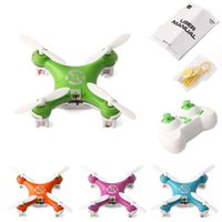 Wholesale Mini UAV Axis Channel Gyro G RC Quadcopter Drone UFO Aircraft UAV CX For Children Gift