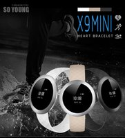 android operators - X9 Mili Smart Bracelets First full Circle s all alloy body ceramic antenna full touch screen operator smart Wristband vs xiaomi mi Wristband