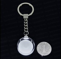Дешевый Пустое изображение-пустой кристалл сублимации личность Keychains настроить печать ваши ключевые изображения кольца свободная перевозка груза