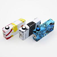 <b>HEXOHM V3</b> Box mod Multicolor 180w Hex ohm Splatter Mod Clone pour Dual 18650 batterie avec protection contre les courts Voltage Display 2016 Vape DHL