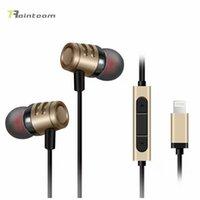 Wholesale 2016 New AirPods Lightning headphones Hi Fi Digital stereo earphones noise canceling Earbud for Apple iPhone iPhone s Plus