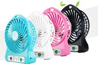 Wholesale Creative Portable Mini USB Fan Indoor Outdoor CHILDREN Fans Charging Battery Powered Handheld cooler fan Cooling table Fan summer gift