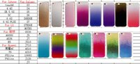 For HTC apple iphone lite - For Iphone S Plus S SE C Rianbow Bling Glitter Soft TPU IMD Case Touch LG K7 Huawei P9 Lite P8 Lite Powder Ipod Gel Gradient