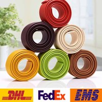 Wholesale DHL M Baby Desk Table Edge Protective Banding Strip Designed For Kids Security Cushion Furniture meters With double Adhesive Tape WX C02
