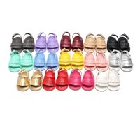 Wholesale 2016 Newest Summer Rubber sole Baby shoes Tassel design summer baby shoes Leather Mocs Sandal Baby moccasin sandals