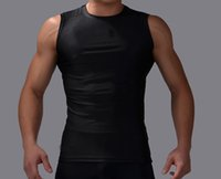 active magnetic - Custom fit concise magnetic quick dry passionate exercise gym vest show muscles for men with sportswear styles