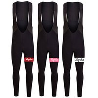 Wholesale 2016 Rapha Cycling Pants Long Sleeves Winter Thermal Fleece Padded Bib Bicycle Trousers High Elastic XS XL Styles For Sale