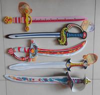 Wholesale EVA mini Foam Interactive Safe non toxic not easily broken Toy Sword for kid dummy knife sword