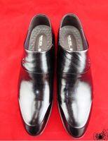 Wholesale 2016Men Genuine Leather Fashion dress shoe Flat Shoes Luxury Men s Business Derby Shoes