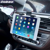 Wholesale Universal Tablet Car Air vent Holder Mount Stand Vent Holder For iPad Air Tablet PC Soporte Tablet