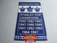 Wholesale Toronto Stanley Cup Champions Flag ft x ft Polyester NHL Banner Flying Size CM Flag