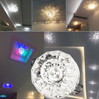 Wholesale Exquisite W LED Modern Crystal Ceiling Light Fixture Lamp Lighting