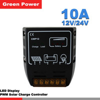 Wholesale CMP10A CMP20 PWM A V V solar charge controller solar regulator for solar panel system use