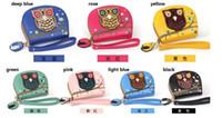 leather owl purse - Size L11 H13 cm PU Leather Cartoon Animal Owl Pocket Money Dibs Change Wallet Women Lady Purse New Designer Sundries Mess Kits Purses