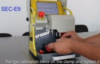 audi automatic - 2016 Original automatic key cutting machine SEC E9 portable smart duplicate car key cutting machine SEC E9 Multi Language