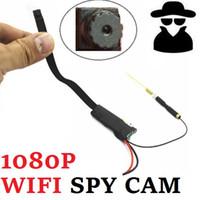Wholesale HD Hidden New Wireless Mini Camera Motion Detect work Spy lens x960 P SPY CAM Smartphone View video mini recorder